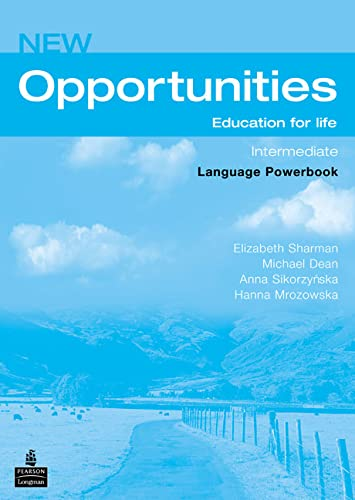 9780582854147: New Opportunities. Intermediate. Language Powerbook: Global Intermediate Language Powerbook NE