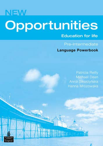 9780582854185: New Opportunities Pre-Intermediate. Language Powerbook: Global Pre-intermediate Language Powerbook