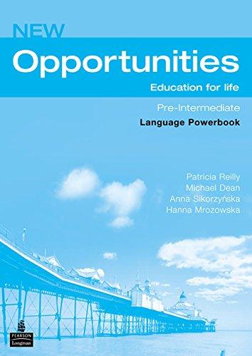 9780582854185: New Opportunities Pre-Intermediate WB