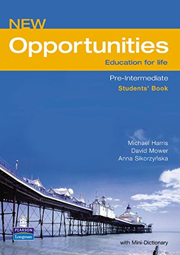 9780582854192: New Opportunities. Pre-Intermediate. Students' Book