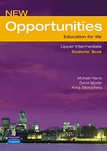 9780582854239: New Opportunities. Upper-Intermediate. Students' Book: Students' Book NE