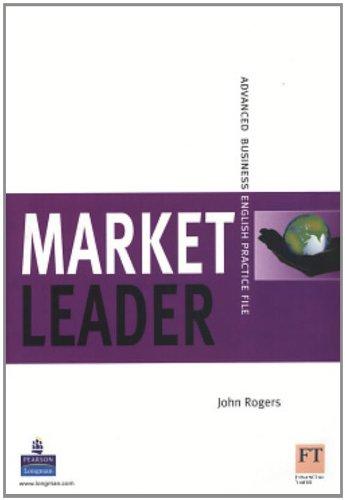 9780582854642: Market Leader: Advanced Business English Practice File