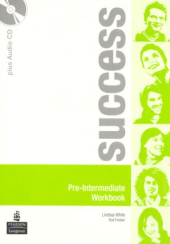 9780582855526: Success. Pre-intermediate. Workbook. Ediz. internazionale. Per le Scuole superiori. Con CD Audio