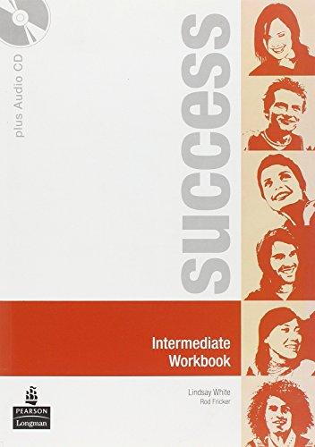 9780582855595: Success. Intermediate. Workbook. Ediz. internazionale. Con CD Audio. Per le Scuole superiori