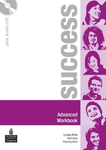 9780582855748: Success Advanced Workbook and CD Pack
