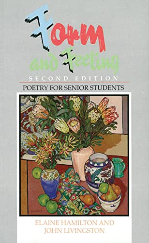 9780582868915: FORM and FEELING: Poetry for Senior Students - Second Edition