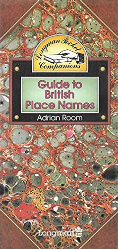 Guide to British Place Names (Pocket Companion): Room, Adrian