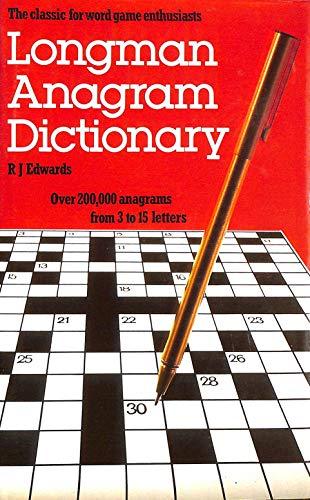 9780582892026: Longman, Anagram Dictionary