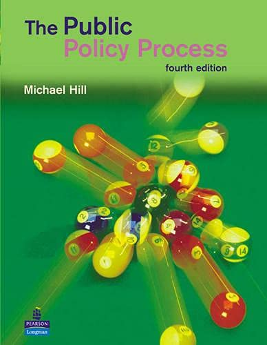 9780582894020: The Public Policy Process (4th Edition)