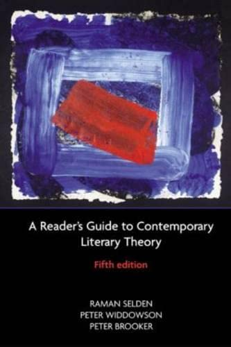 9780582894105: A Reader's Guide to Contemporary Literary Theory