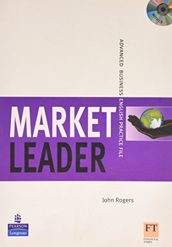 9780582895621: Market Leader Advanced Practice File Book and CD Pack