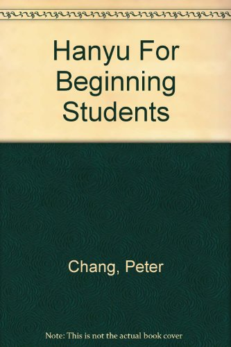 9780582908697: Hanyu For Beginning Students