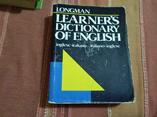 9780582964099: Longman Learner's Dictionary of English: Inglese-Italiano, Italiano-Inglese (English and Italian Edition)