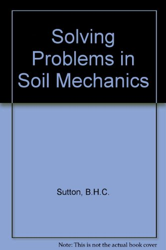 9780582988101: Solving Problems in Soil Mechanics