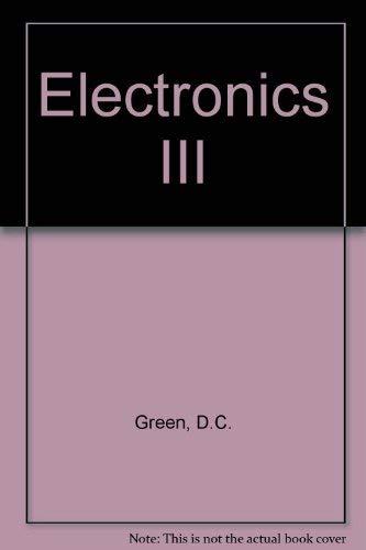 9780582988392: Electronics III
