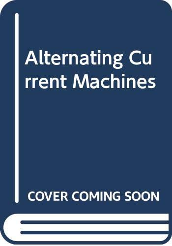 9780582988750: Alternating Current Machines