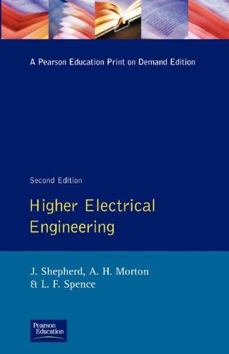 Higher Electrical Engineering (9780582988880) by Shepherd, J.