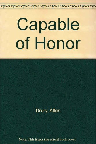 9780583112864: Capable of Honor