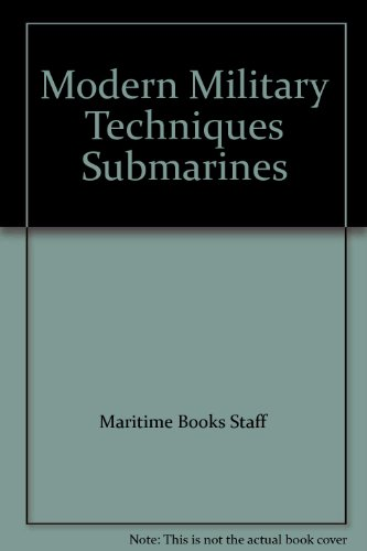 9780583310093: Submarines (Modern Military Techniques S.)