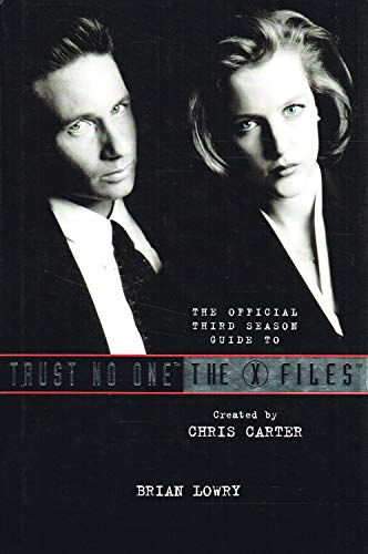 9780583330558: Trust No One: The Official Third Season Guide to the X Files