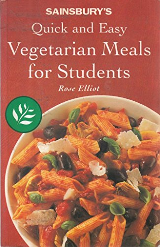9780583331197: Sainsburys Quick And Easy Vegetarian Meals For Students