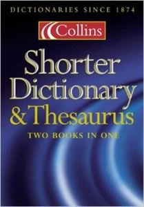 9780583337069: Shorter Dictionary and Thesaurus