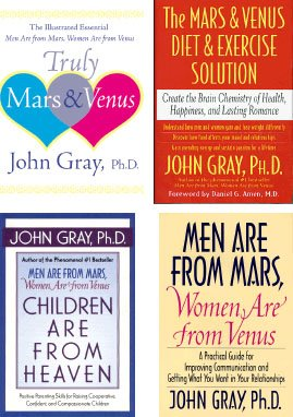 Men Are from Mars, Women Are from: John Gray