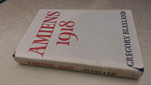 9780584100068: Amiens, 1918