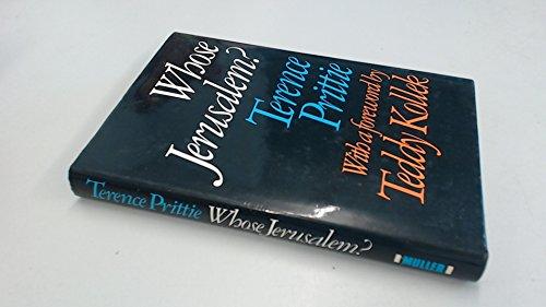 Whose Jerusalem?: Prittie, Terence