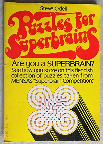 9780584104554: Puzzles for Superbrains