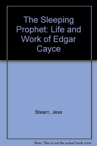 9780584110678: The Sleeping Prophet: Life and Work of Edgar Cayce