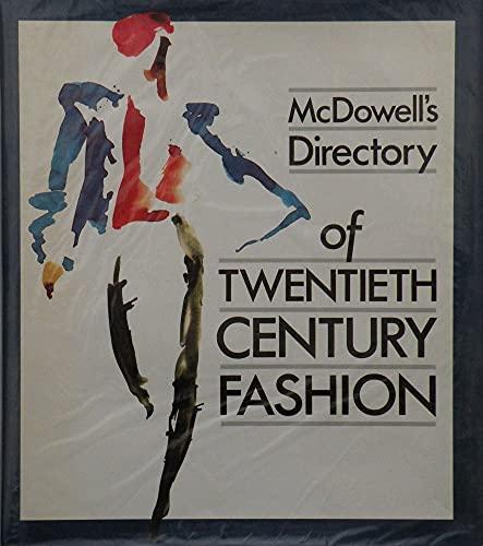 9780584110708: McDowell's Directory of Twentieth Century Fashion