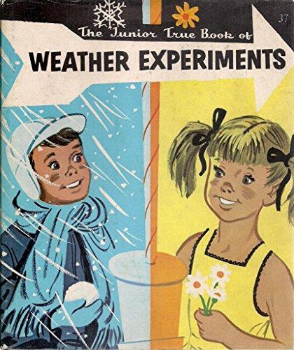 9780584629378: Weather Experiments (Junior True Books)