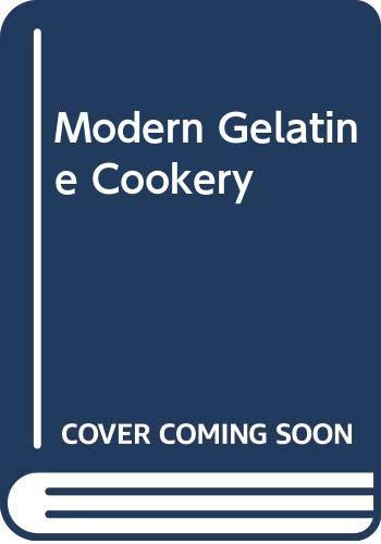Modern Gelatine Cookery 1970 Book Illustrated