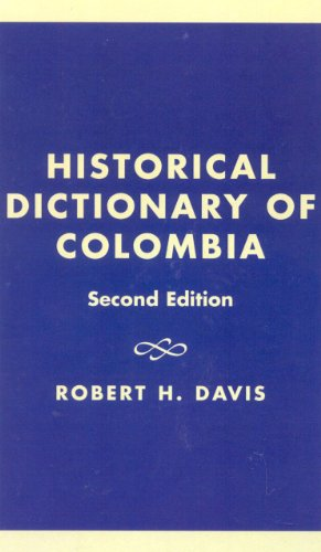 9780585179629: Historical Dictionary of Colombia