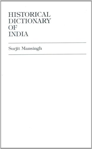 9780585179636: Historical Dictionary of India