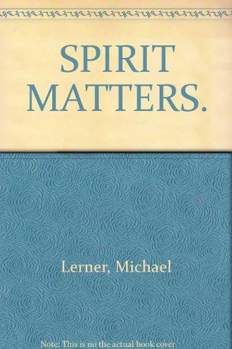 9780585346366: Spirit Matters