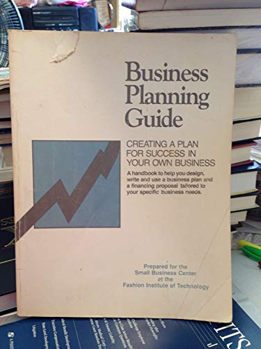 9780585347912: The Business Planning Guide: Creating a Plan for Success in Your Own Business
