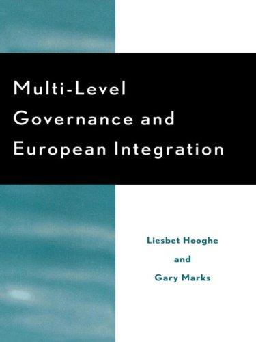 9780585381664: Multi-Level Governance and European Integration