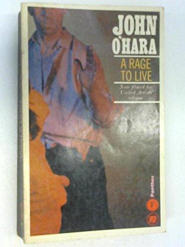 A Rage to Live: ohara, john