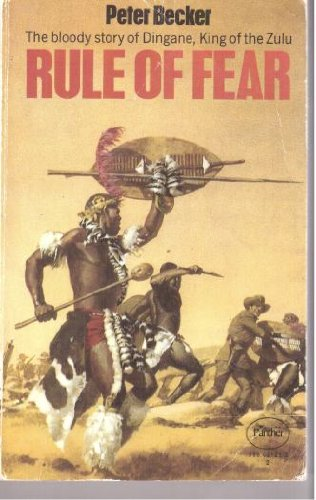 9780586021217: Rule of Fear: Dingane, King of the Zulu