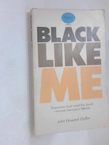 Black Like Me Book Cover : Black like me by griffin john howard london panther