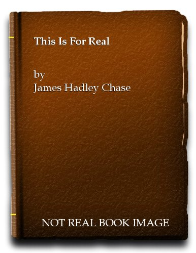 This is for Real (Panther crime): James Hadley Chase