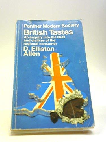 9780586028865: British Tastes (Panther Modern Society S.)