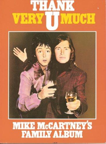 9780586049204: Thank U Very Much: Mike McCartney's Family Album