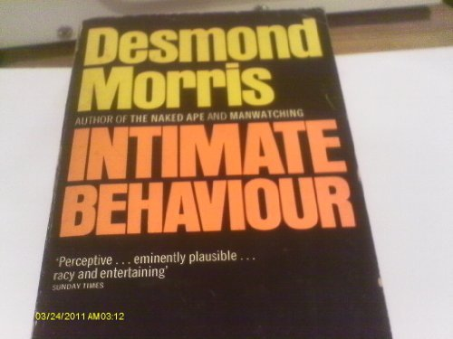 9780586049495: INTIMATE BEHAVIOUR