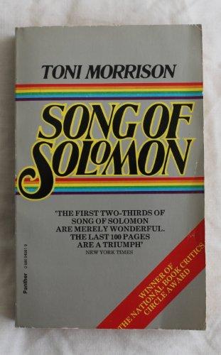 Song of Solomon: A Novel: Toni Morrison