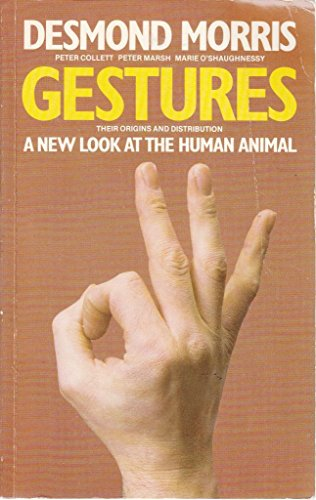 9780586053614: Gestures: Their Origins and Distribution