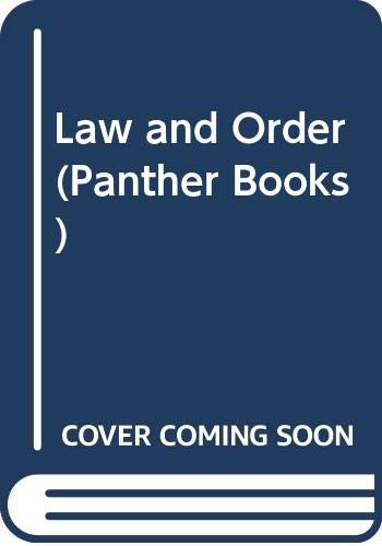 Law and Order (Panther Books) (0586057838) by G.F. Newman