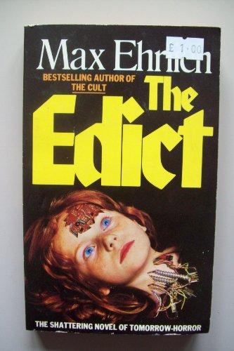 9780586059081: The Edict